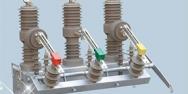 SF6 gas application - SF6 gas-insulated switchgear
